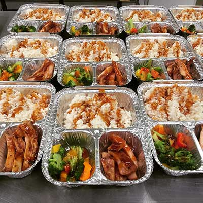 School Lunches for Order and Delivery